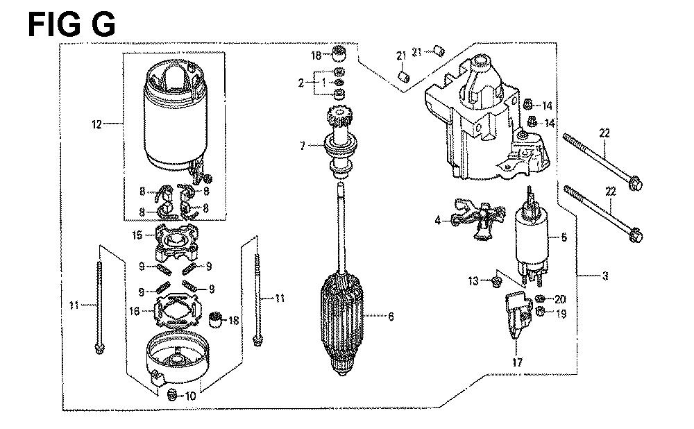 GXV671-TTAFA-Honda-PB-7Break Down