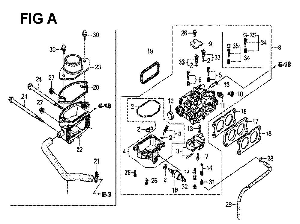 GXV690R-TQYF4-Honda-PB-1Break Down