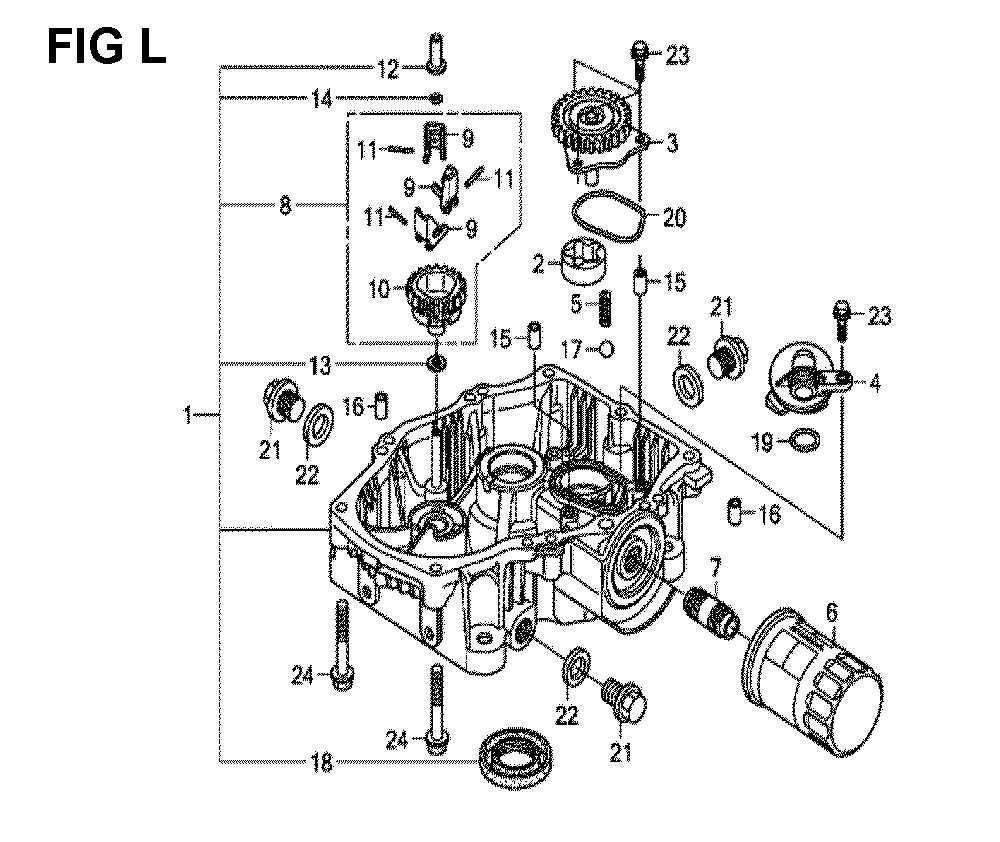 GXV690R-TQYF4-Honda-PB-12Break Down