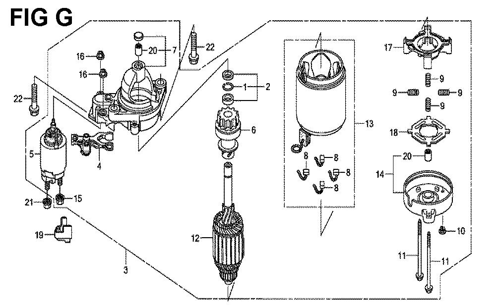 GXV690R-TQYF4-Honda-PB-7Break Down