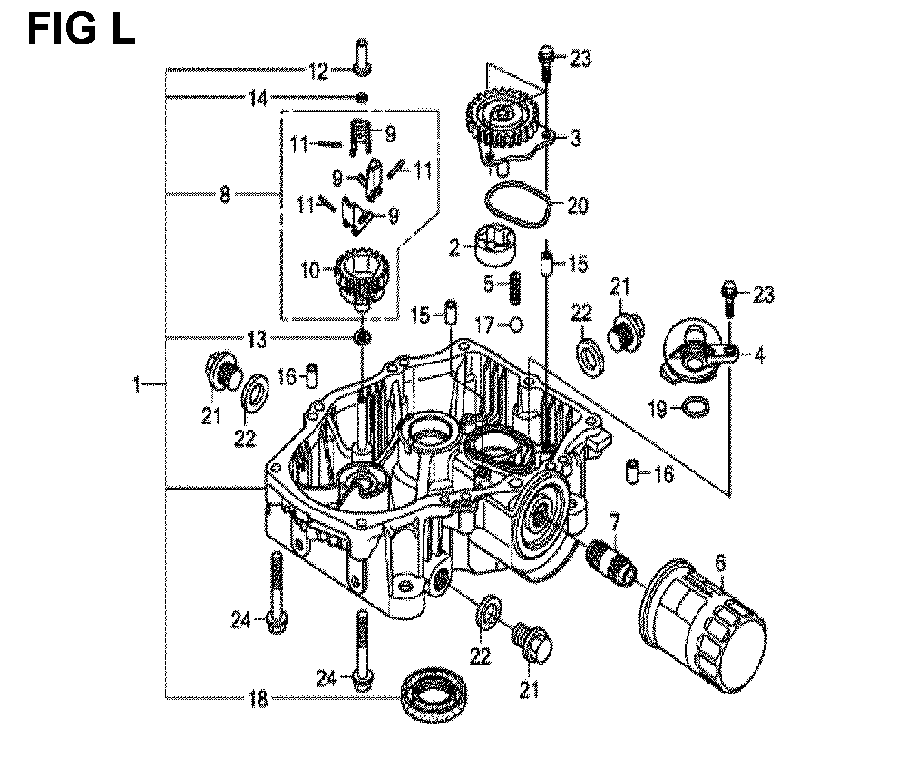 GXV690R-TTAF2-Honda-PB-12Break Down