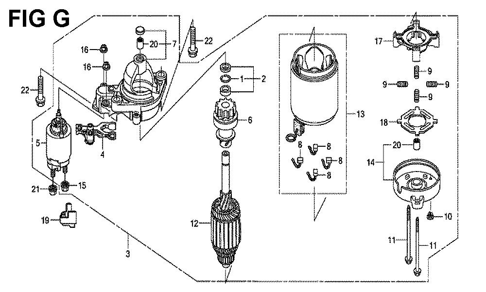 GXV690R-TTAF2-Honda-PB-7Break Down