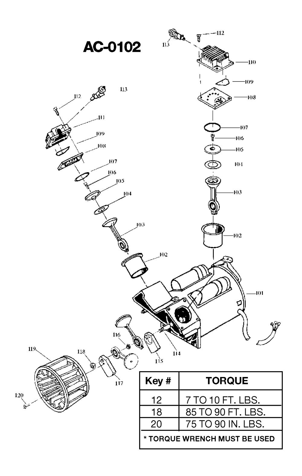 IR500TVE60V-Devilbiss-T2-PB-1Break Down