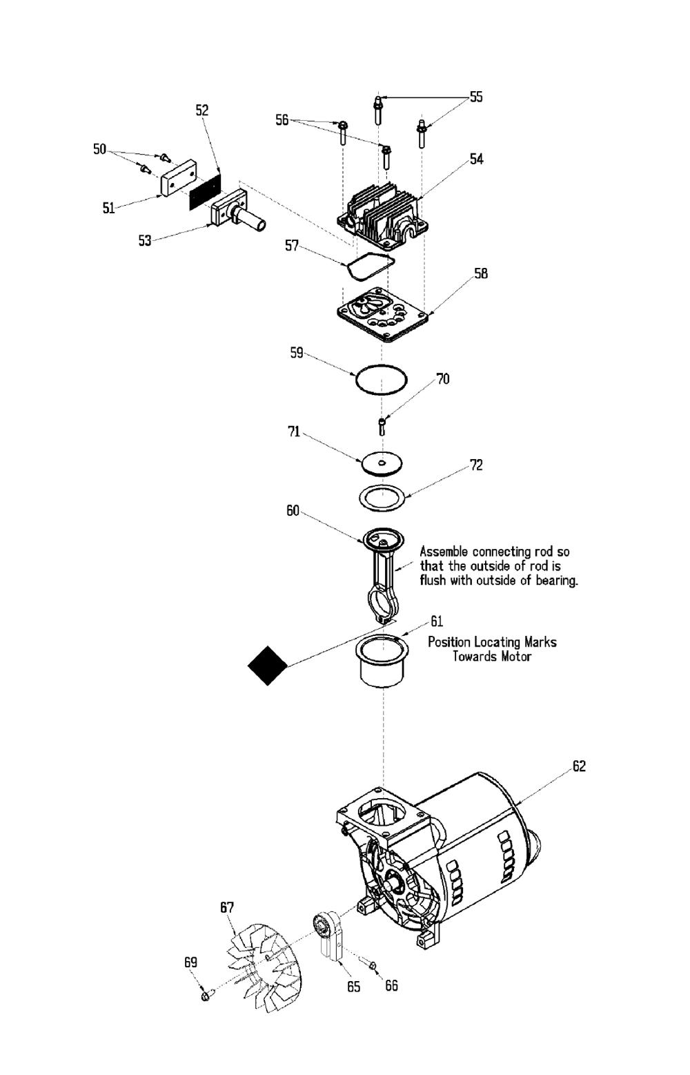 IRF420-Devilbiss-T2-PB-1Break Down
