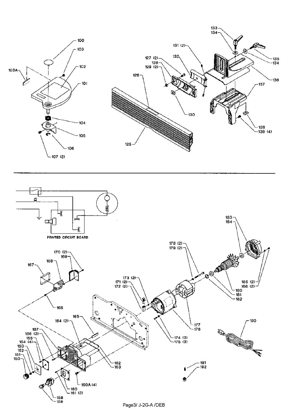 JT160-Delta-T1-PB-1Break Down