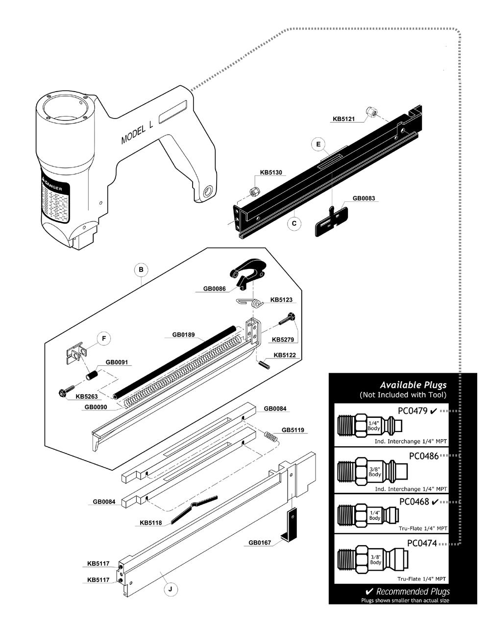 Buy Senco LS1 Replacet Tool Parts   Senco LS1 <a href='/senco ...
