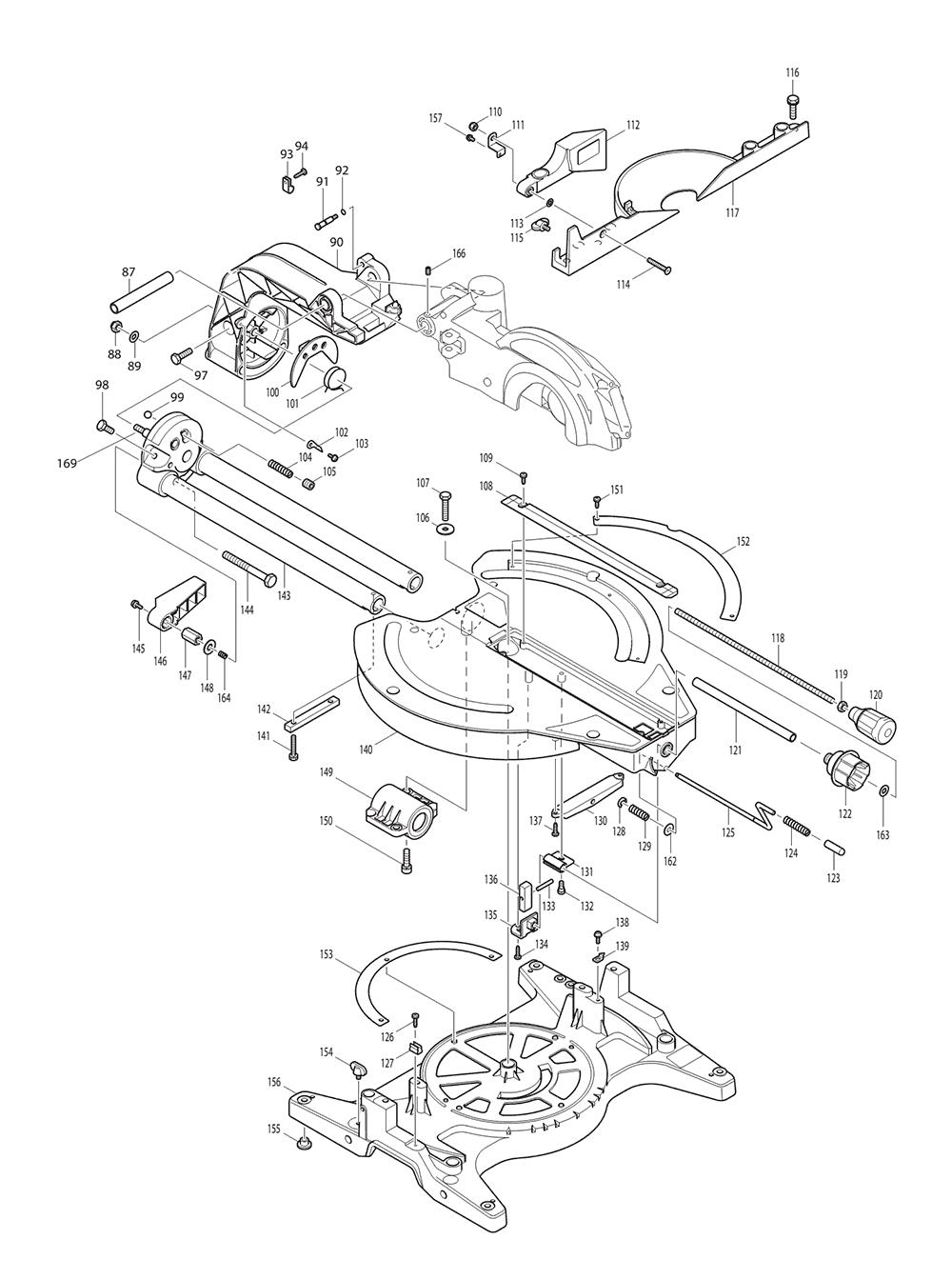 LS1013-T4-Makita-PB-1Break Down