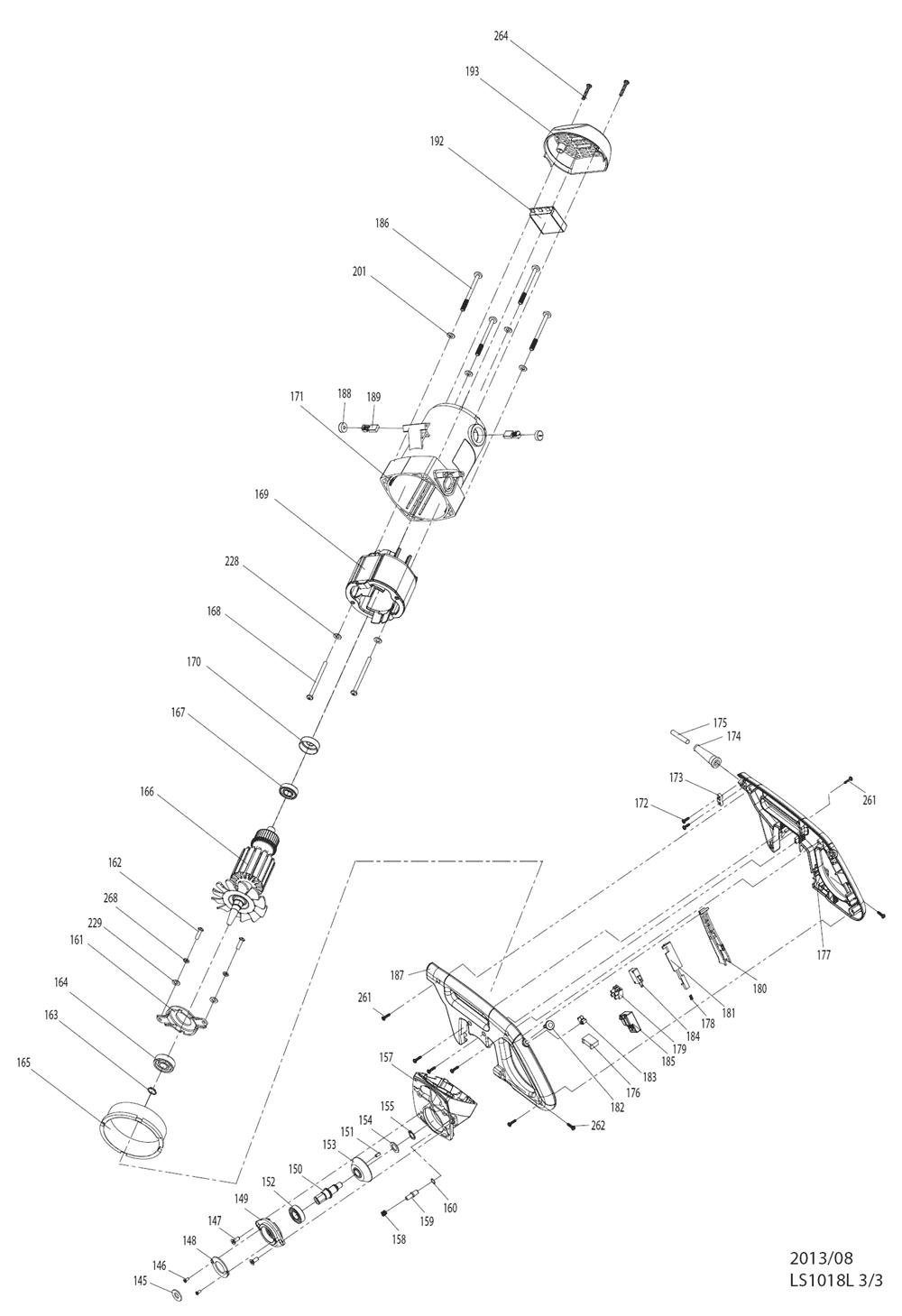 LS1018L-Makita-PB-1Break Down