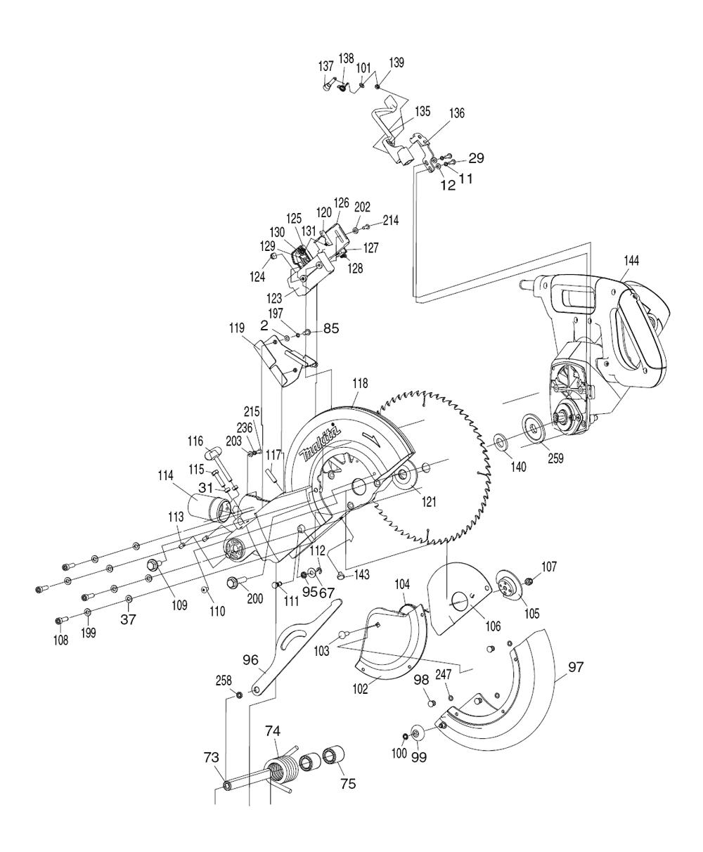 LS1018L-Makita-PB-3Break Down