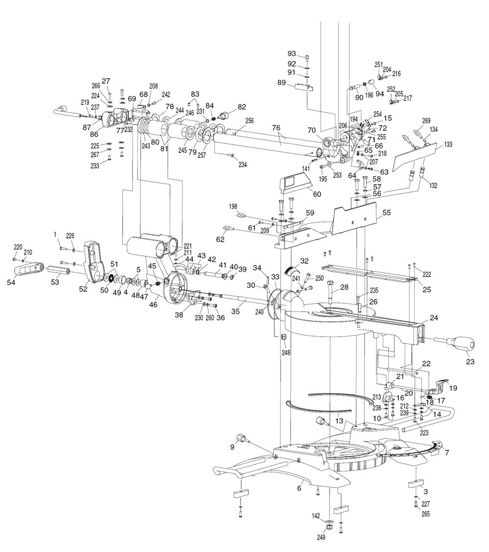 LS1018L-Makita-PB-4Break Down