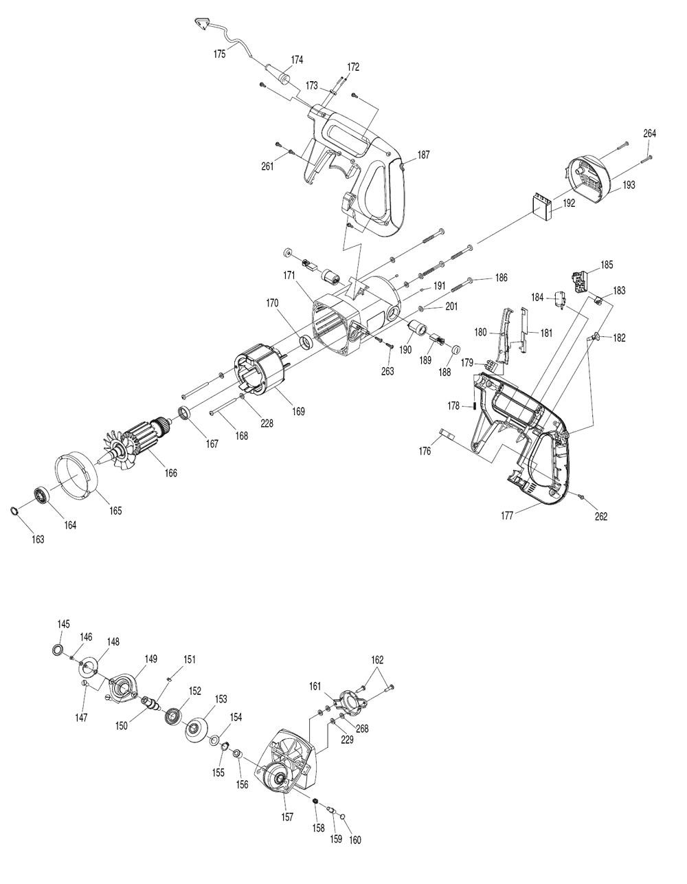 LS1018L-Makita-PB-5Break Down