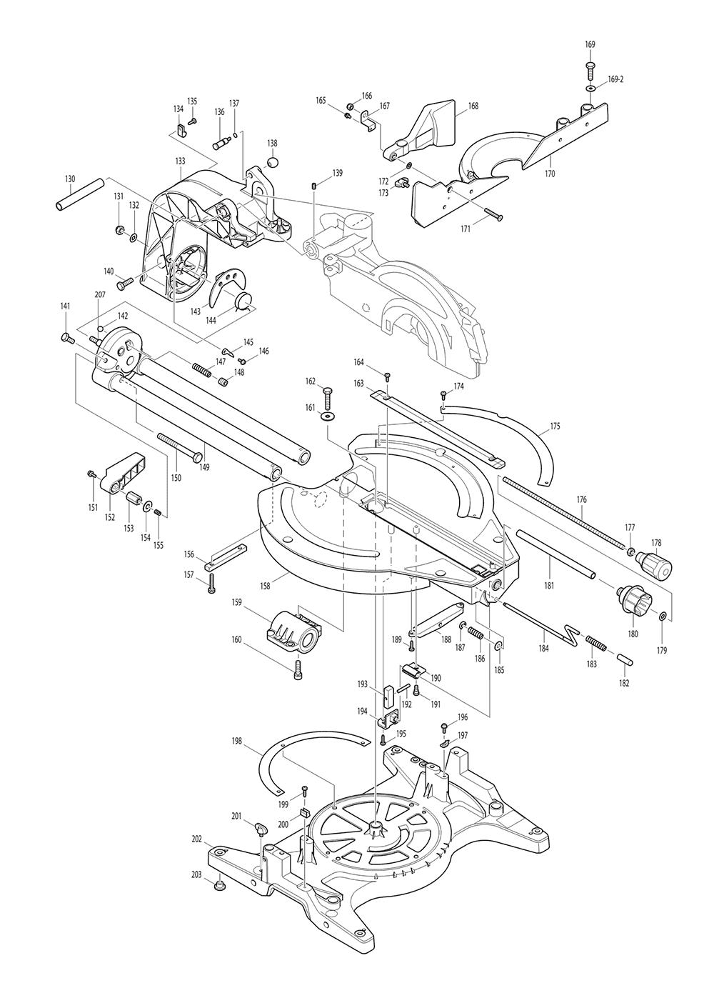 LS1214LX1-T1-Makita-PB-1Break Down