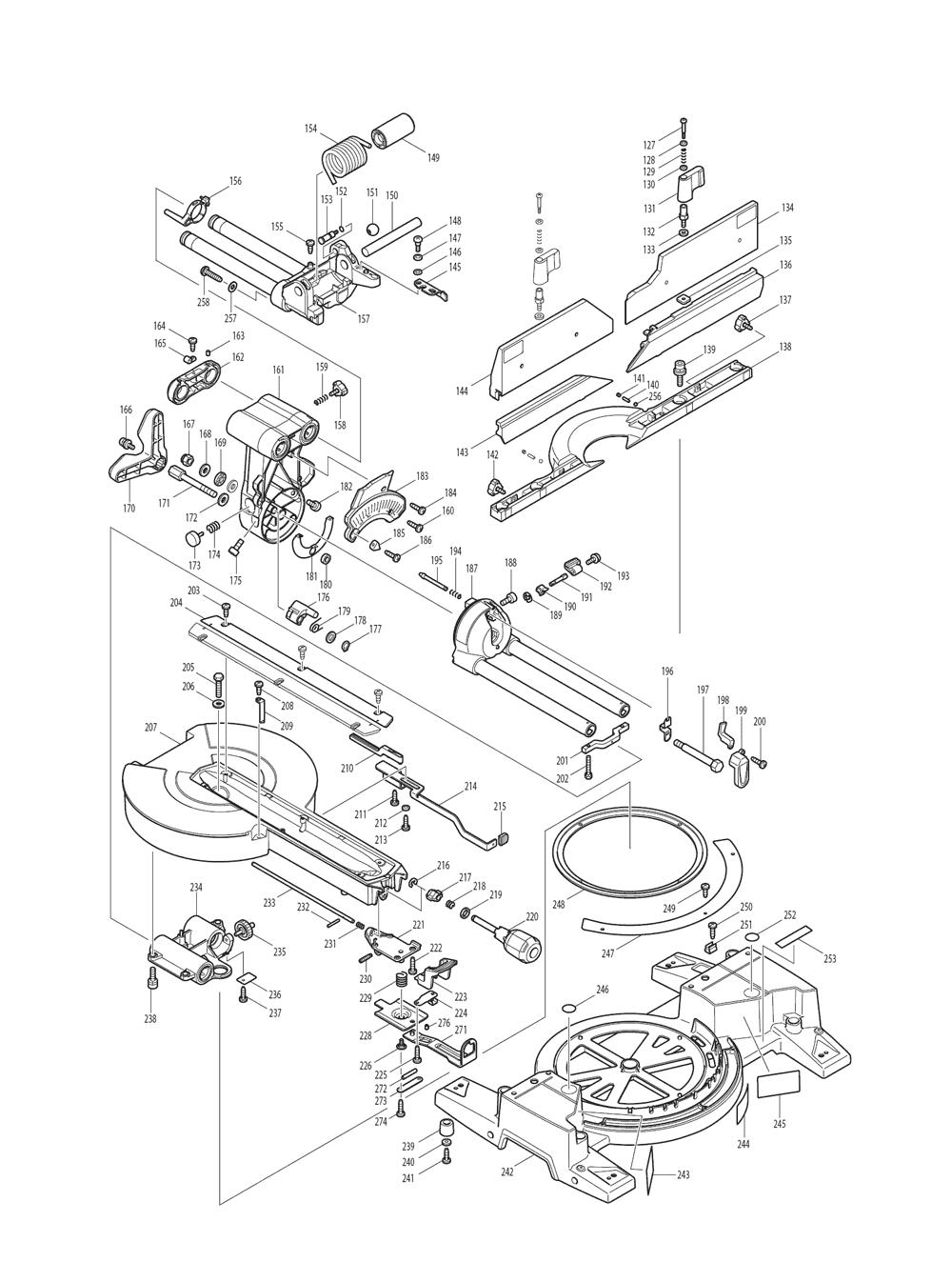 LS1216-T2-Makita-PB-1Break Down