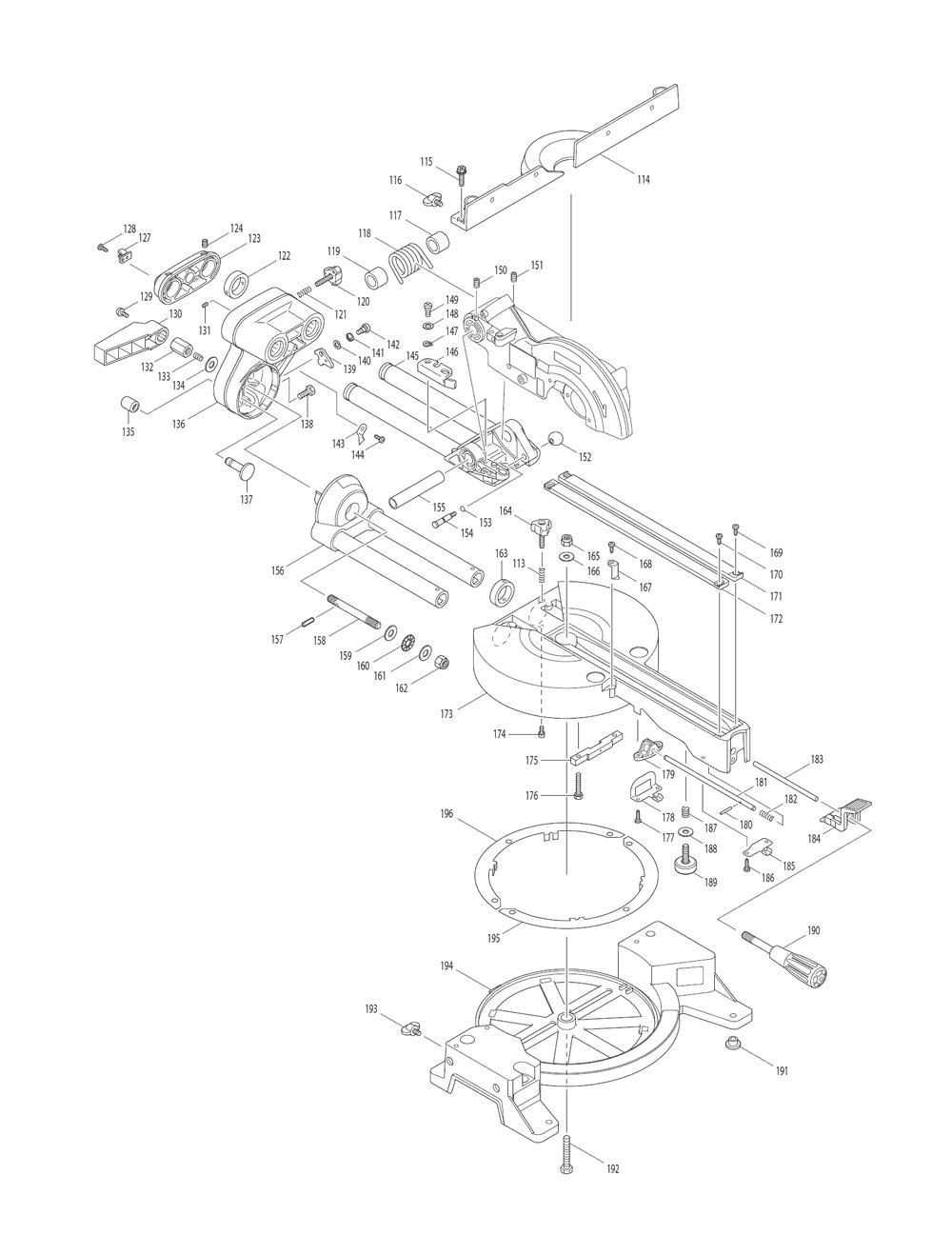 LXSL01Z-T1-Makita-PB-1Break Down