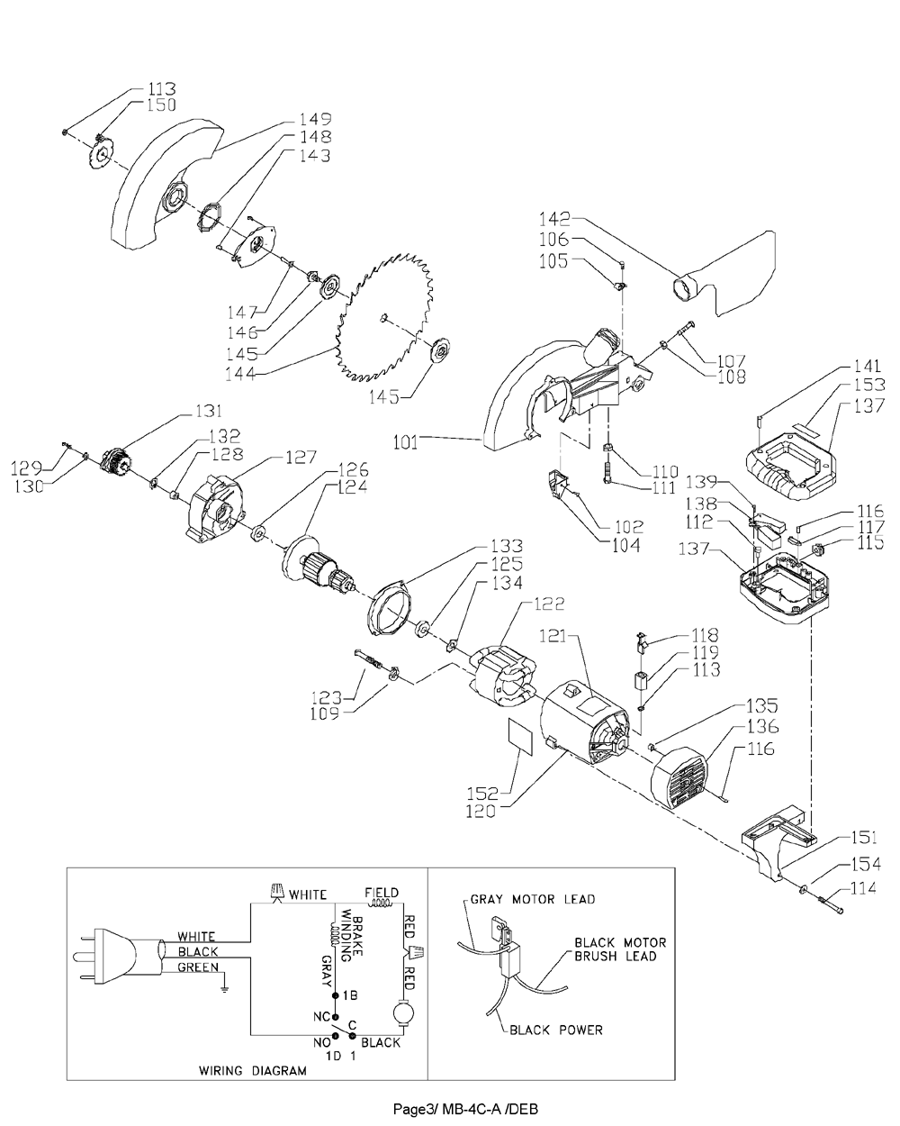 MS350-delta-PB-1Break Down
