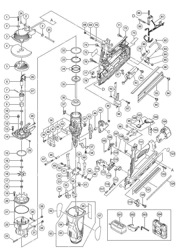 hitachi nr90gr parts schematic
