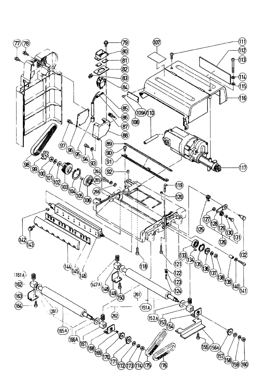 Hitachi-P12RA-Parts-2346-PBBreak Down