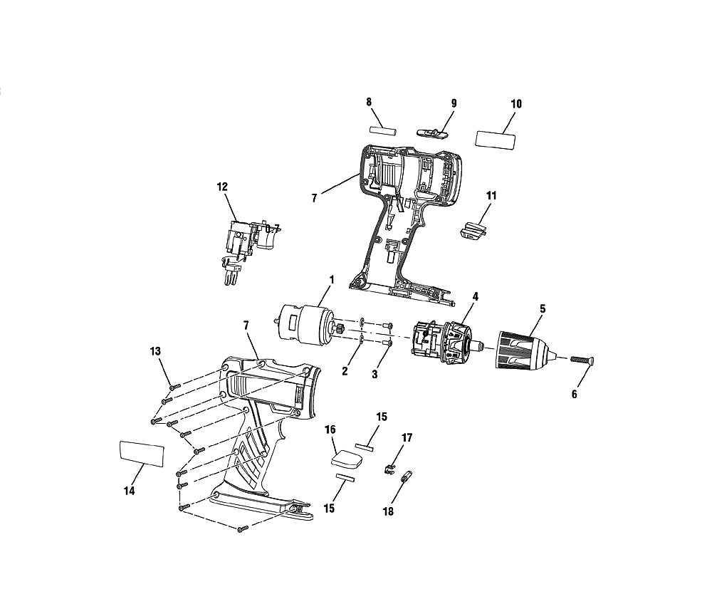 buy ryobi p202b replacement tool parts