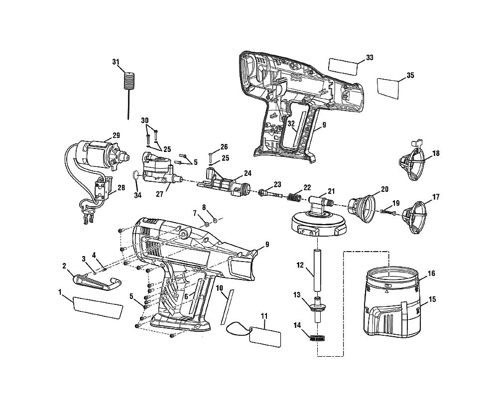 buy ryobi p631k1 replacement tool parts