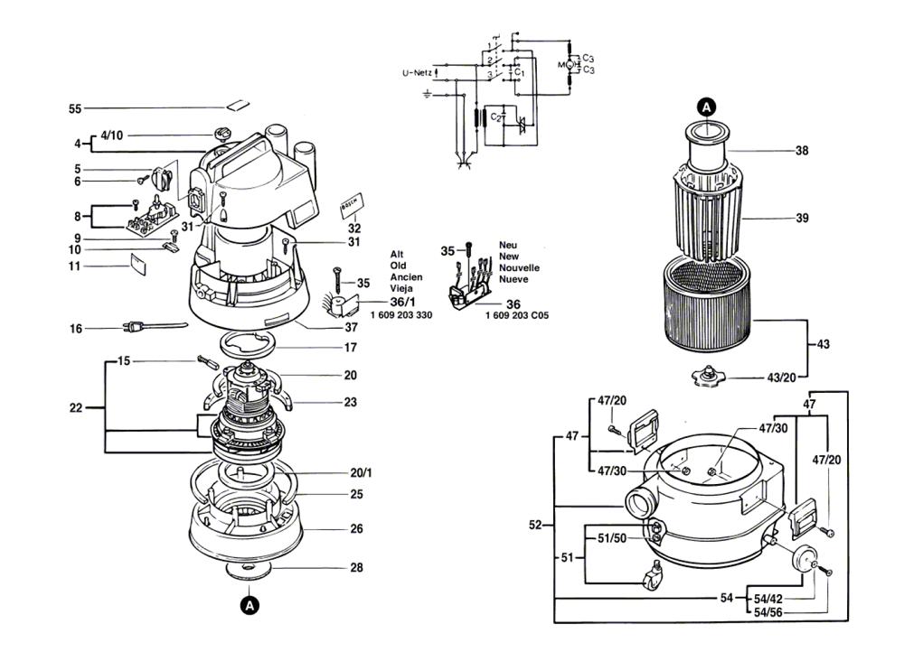 Vacuum Parts Bosch Vacuum Parts border=