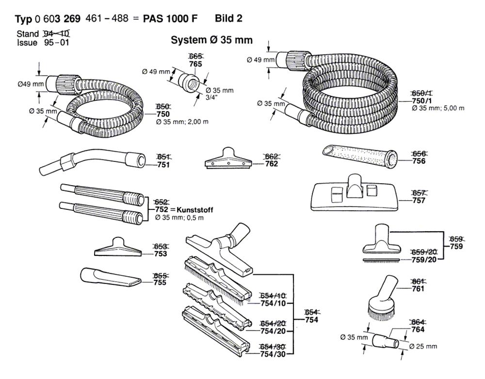 PAS-1000-F-(0603269474)-Bosch-PB-1Break Down