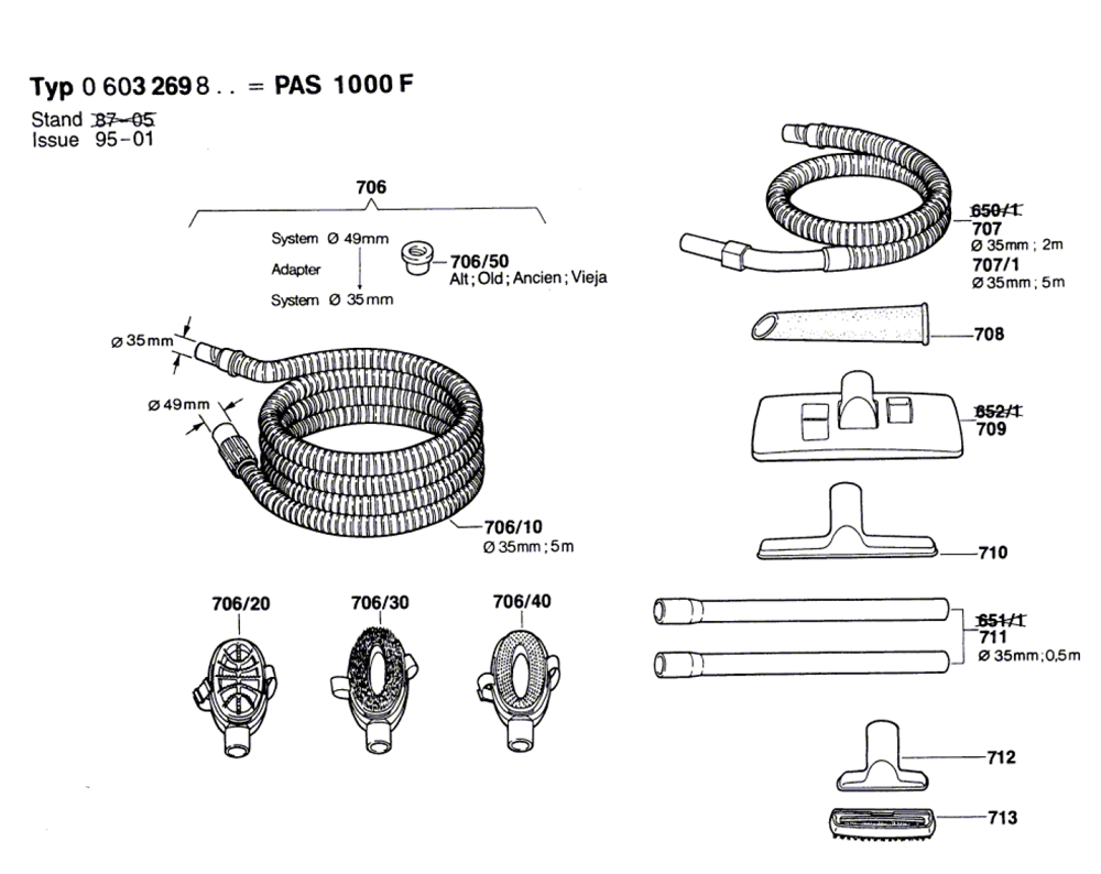 PAS-1000-F-(0603269834)-Bosch-PB-1Break Down
