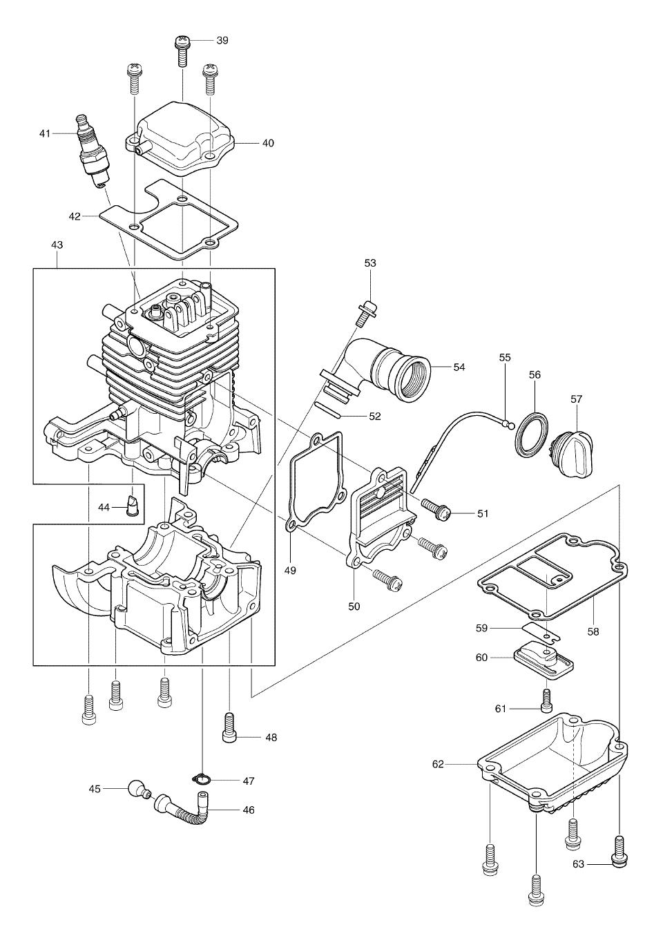 PB2504-makita-PB-1Break Down