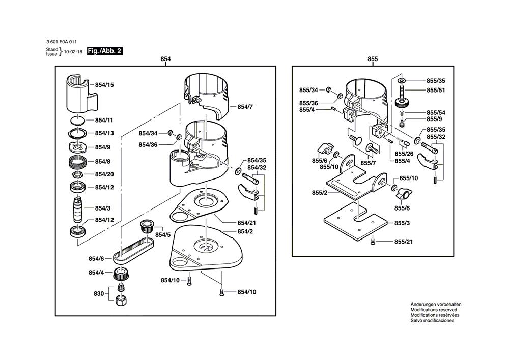 PR10E(3601F0A011)-bosch-PB-1Break Down