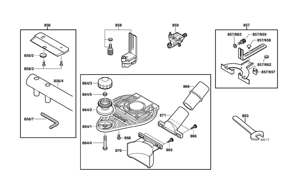 Bosch Parts 2609110253 Nut