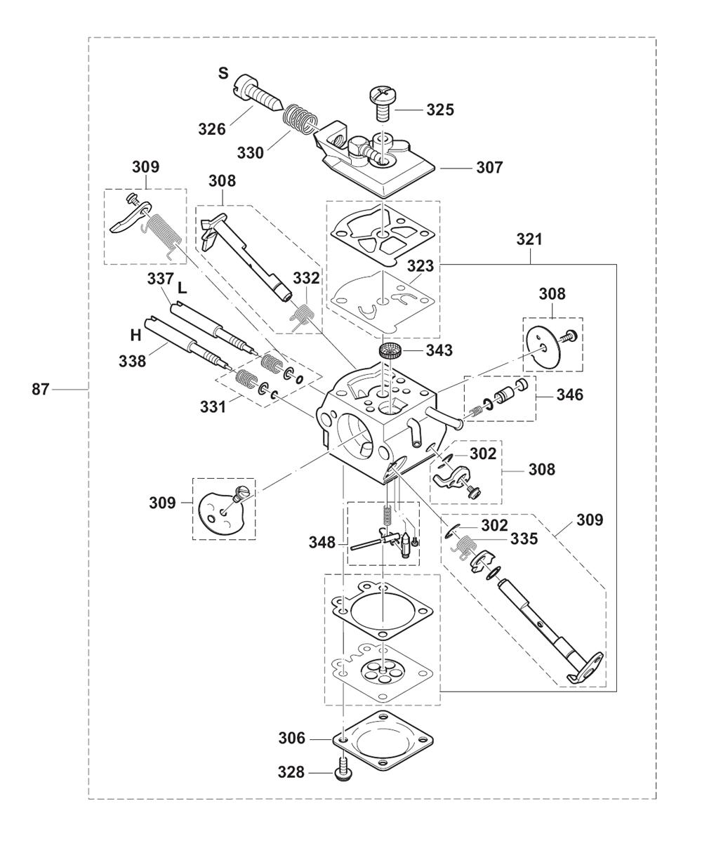 tlc engine diagram wiring library Briggs and Stratton Ignition Wiring Diagram for Mod 195437 ps 33 c tlc dolmar pb 6break down