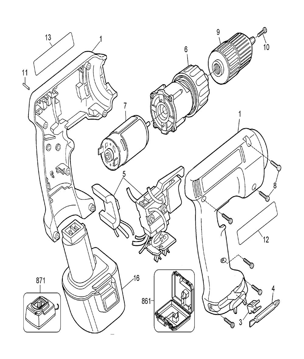 PS3500K-2-BlackandDecker-T1A-PB-1Break Down