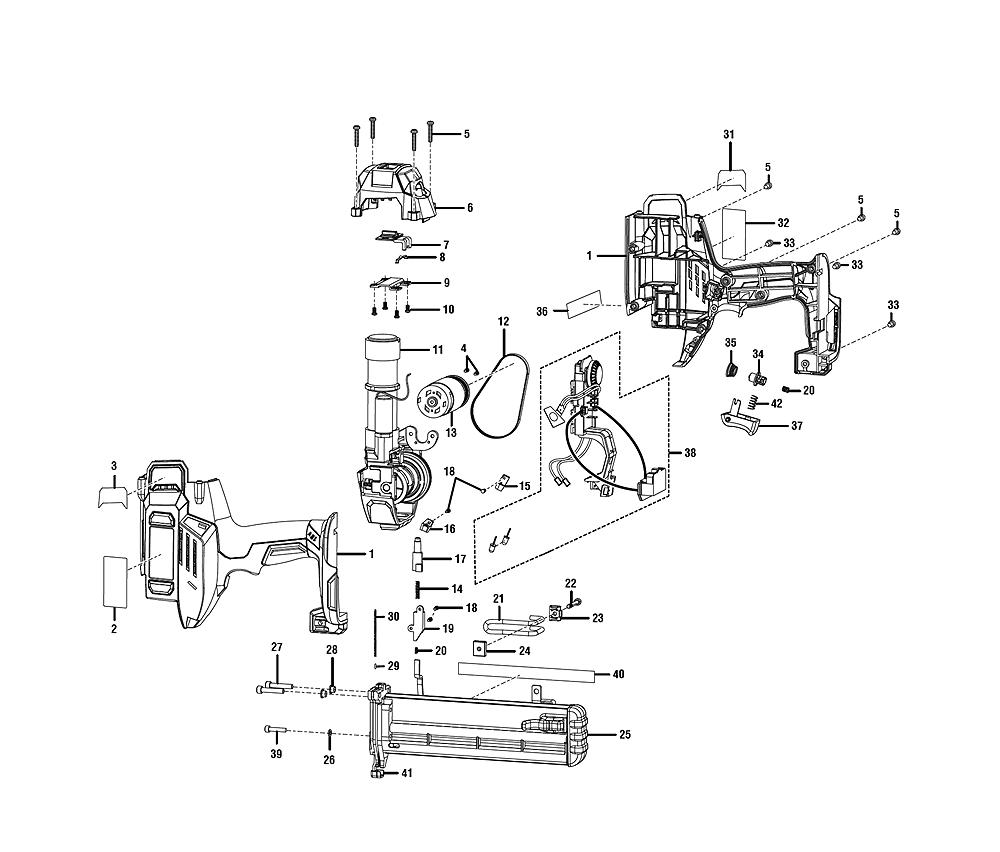 buy ridgid r213bn18 replacement tool parts