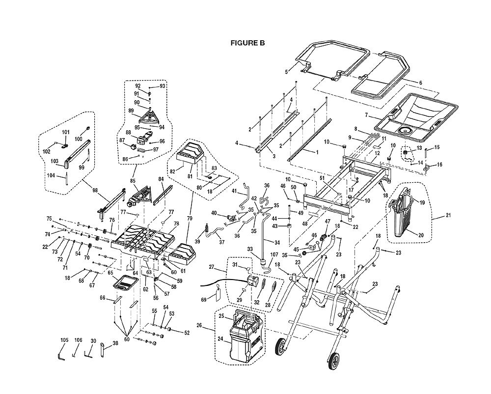 Buy Ridgid R4010 Replacement Tool Parts A Href Motor Wiring Diagram For Pb 1break Down