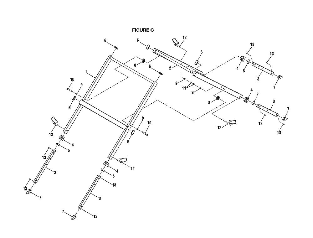 Ridgid R4030 Diagram