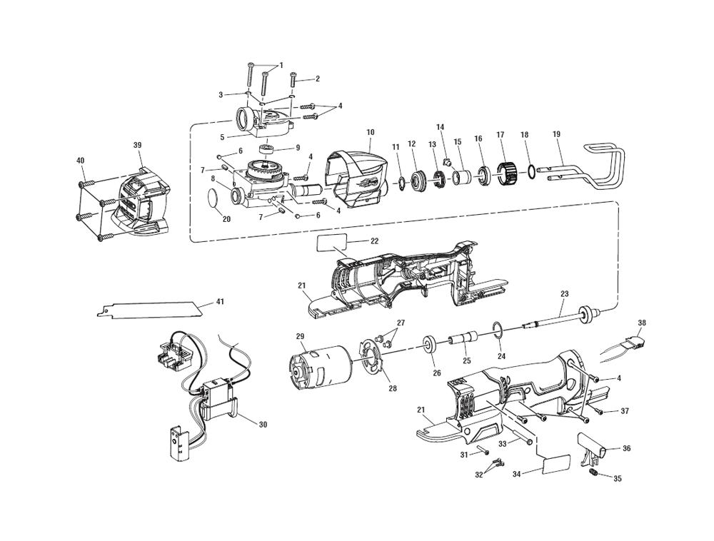 Buy Ridgid R86447 Replacement Tool Parts   Ridgid R86447 Cordless Saw ...