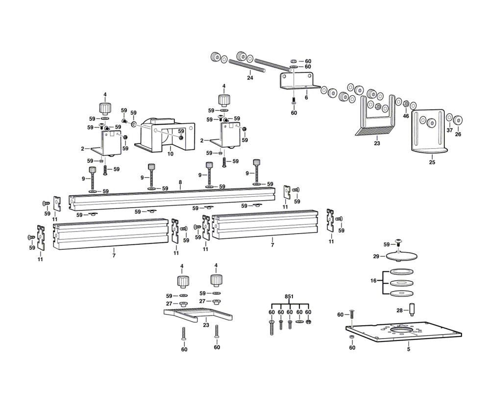 RA1180-(2610914514)-Bosch-PB-1Break Down