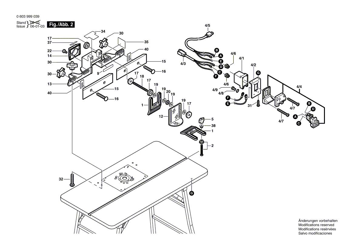 RA1200(0603999039)-bosch-PB-1Break Down