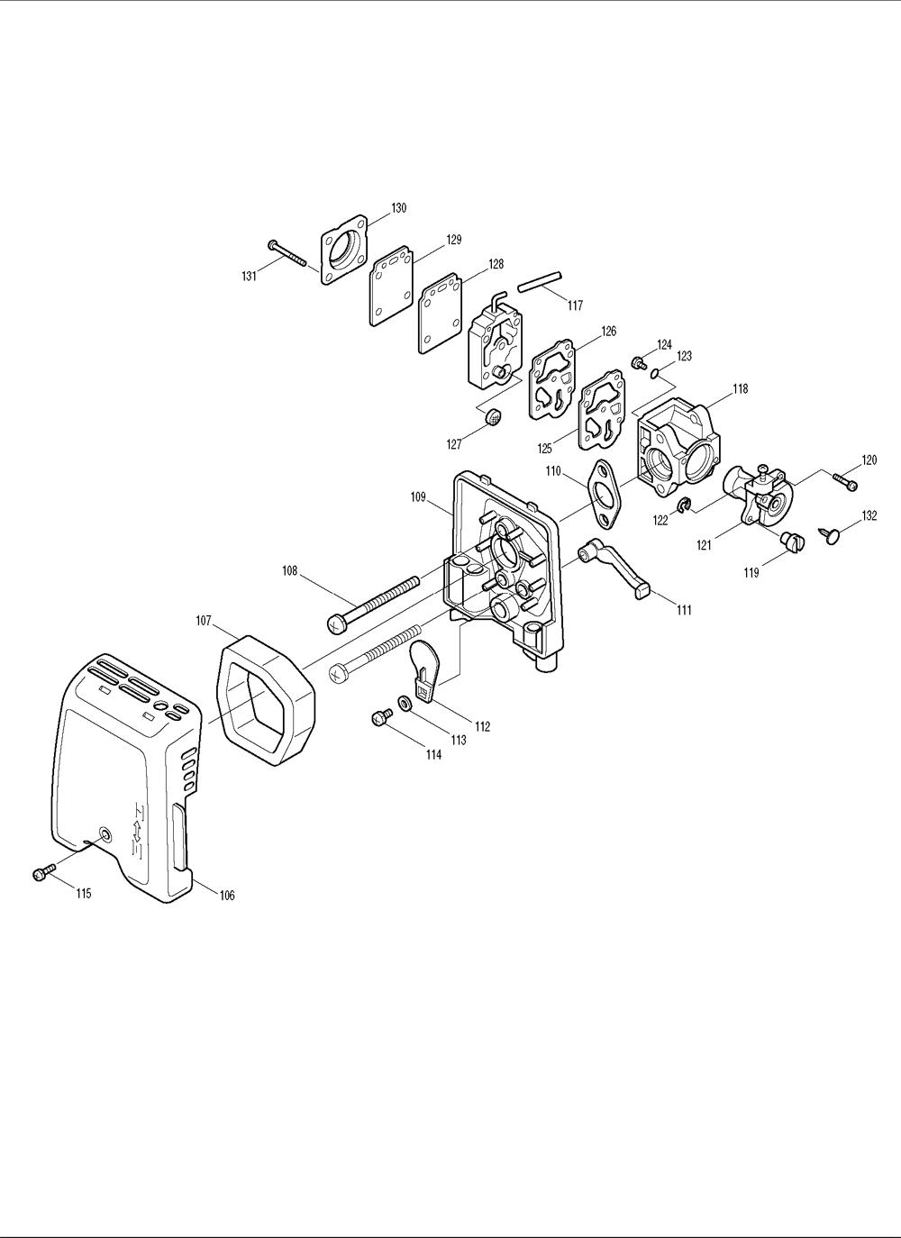 Makita-RBE250-250-PBBreak Down