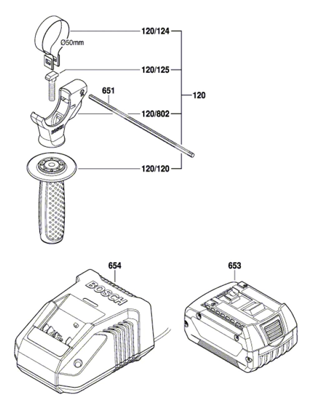 RHH181-01-(3611J04010)-Bosch-PB-1Break Down