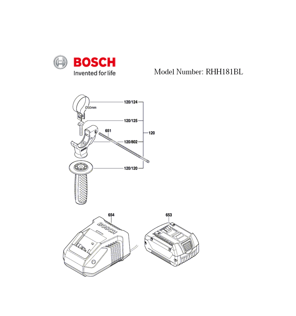 RHH181BL-(3611J04010)-Bosch-PB-1Break Down