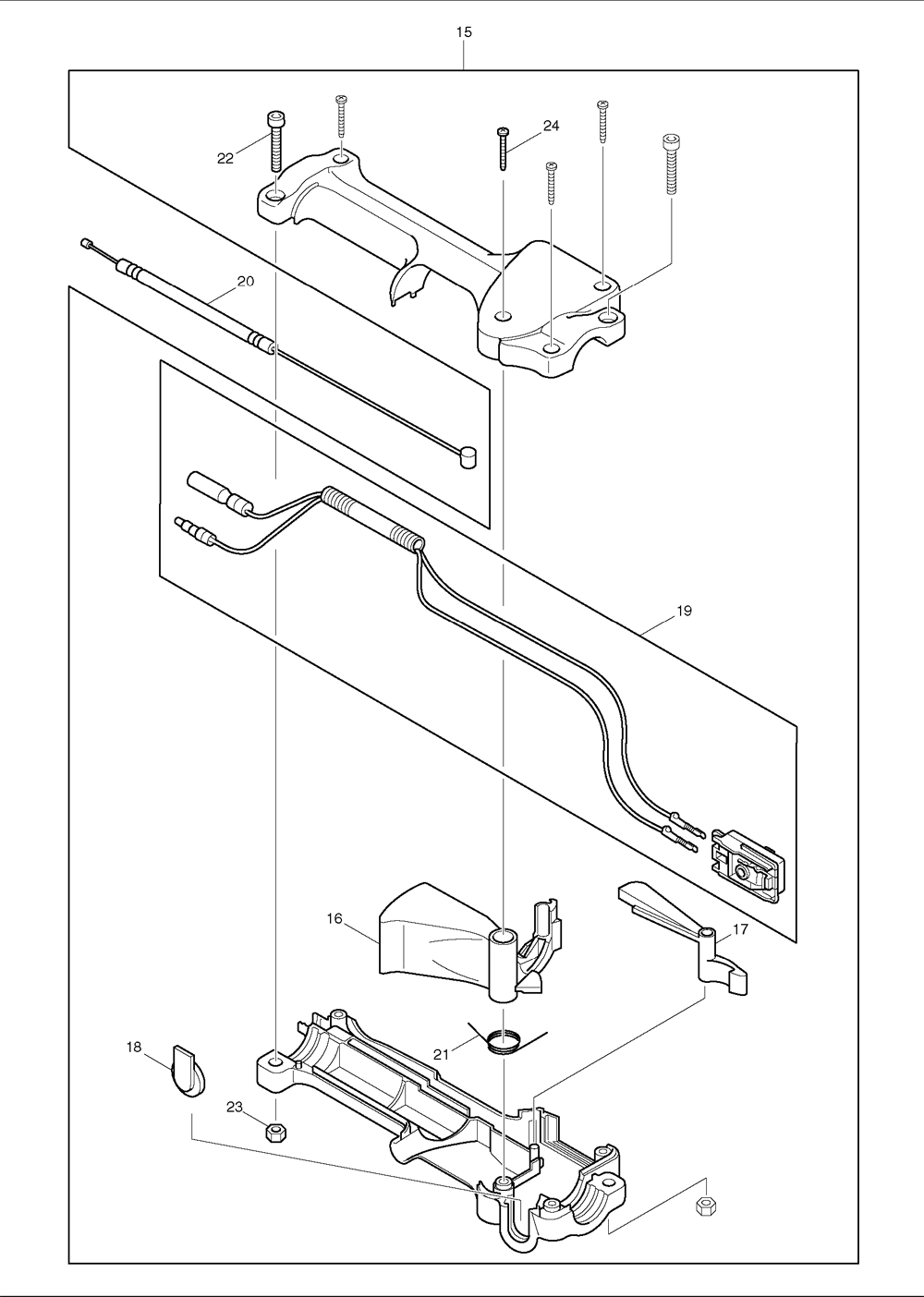 Makita-RPT250-367-PBBreak Down