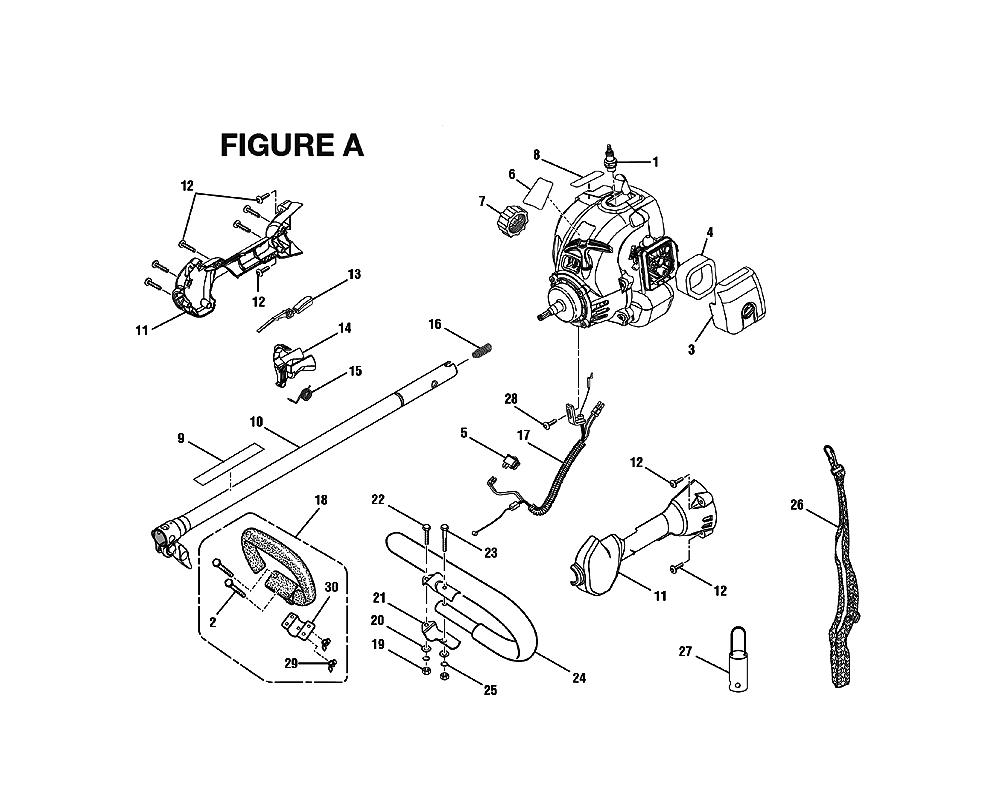 buy ryobi ry30560 replacement tool parts