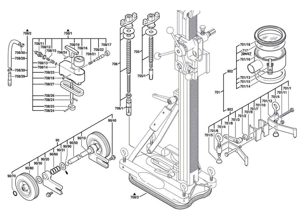 S500-(0601190023)-Bosch-PB-1Break Down