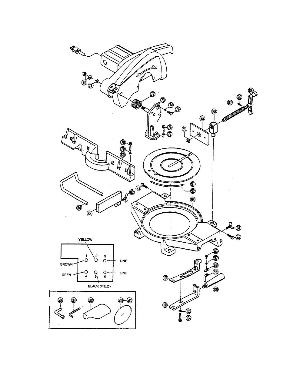 buy ryobi ts251udx replacement tool parts