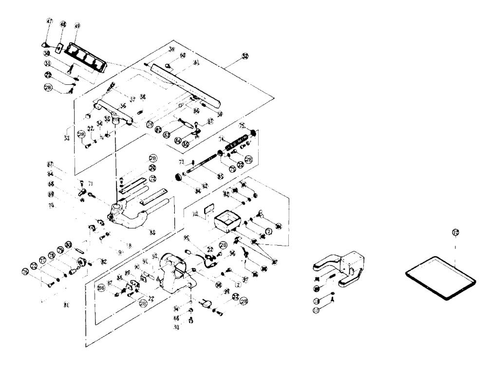 UA130-Hitachi-PB-1Break Down
