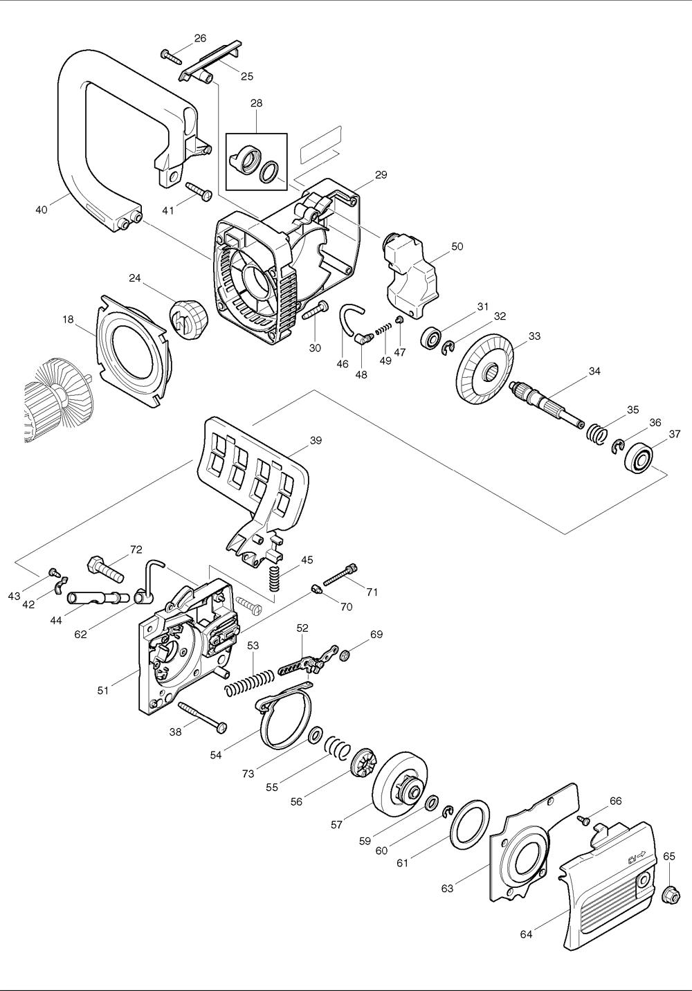 Makita-UC3500-228-PBBreak Down