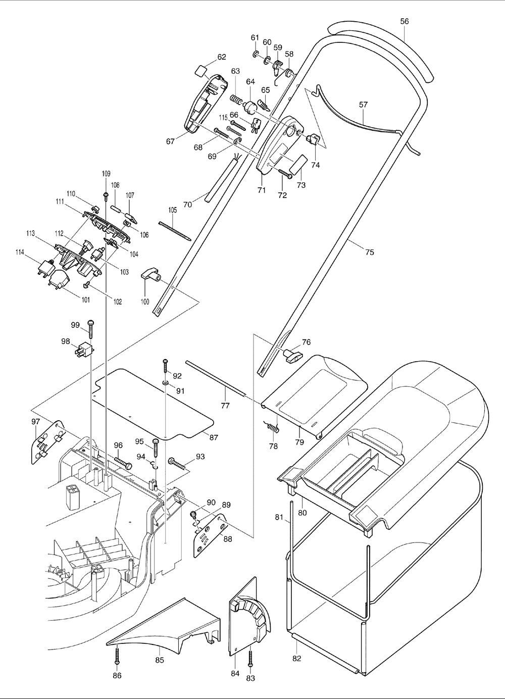 Makita-UM401D-337-PBBreak Down