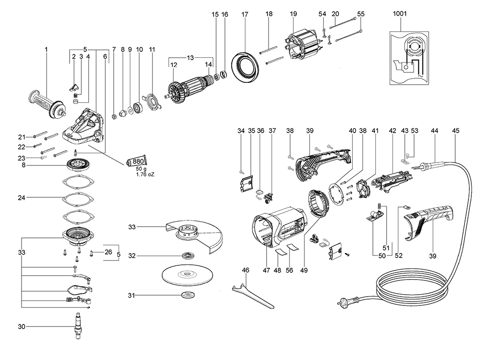 Engine external further Spa Wiring Schematic Diagram moreover Parts furthermore Metabo W24 180 06445310 Parts likewise Parts. on jet replacement parts html