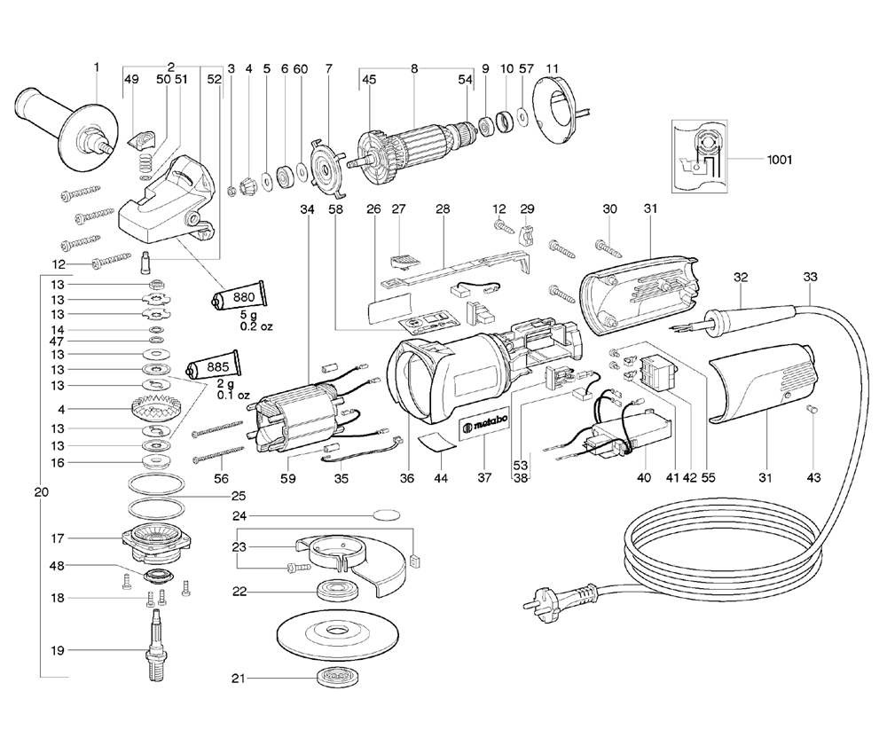 Diagram For Metabo Grinder Wiring And Engine W72125 18102310 Parts Further W24 180 06445421 Furthermore Together With