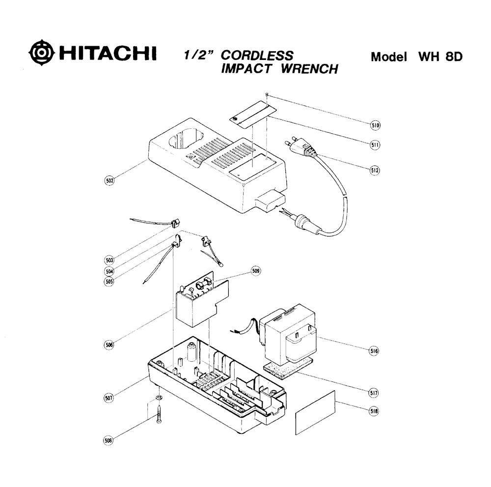 WH8D-Hitachi-PB-1Break Down